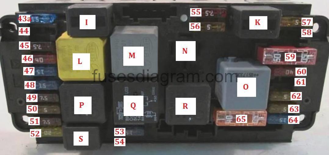 mercedes benz c240 fuse diagram