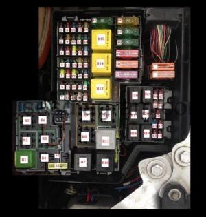 Fuse box OpelVauxhall Corsa C