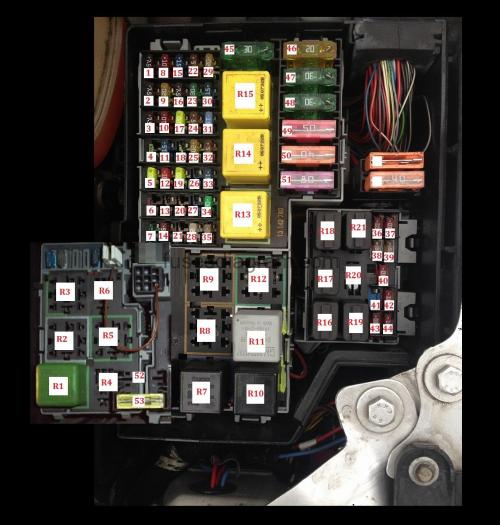 small resolution of 03 land rover discovery fuse box