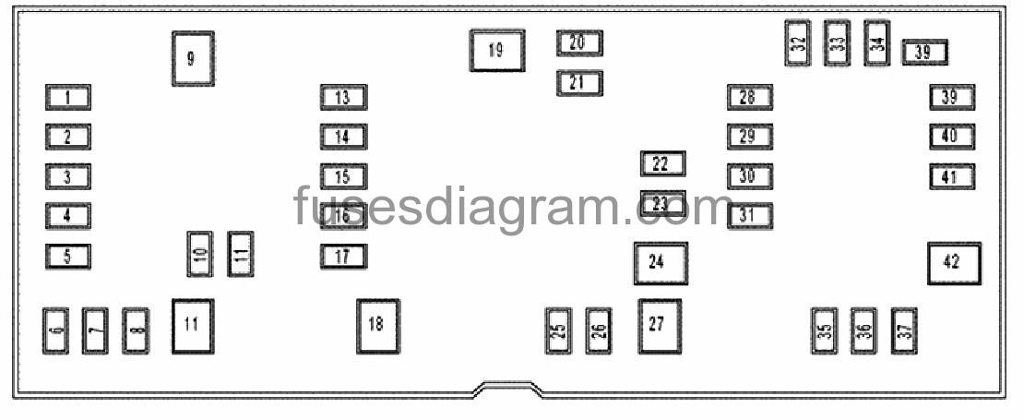 2007 dodge ram 1500 fuse box layout
