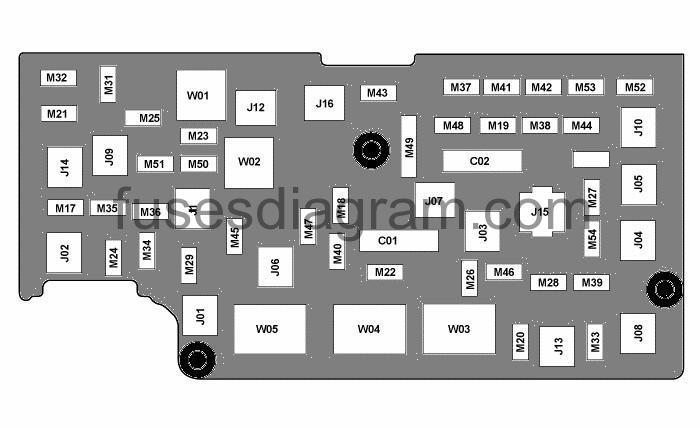 2011 dodge ram 2500 fuse box diagram