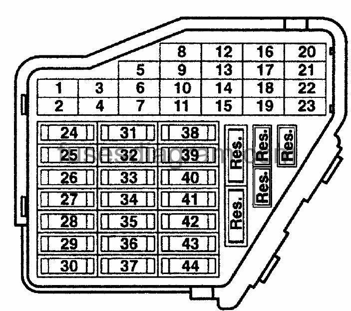 fuse diagram 2000 stratus