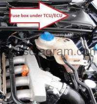 Audi A4 Fuse Box Location 2004 Under Hood 1996 Audi A4 ...