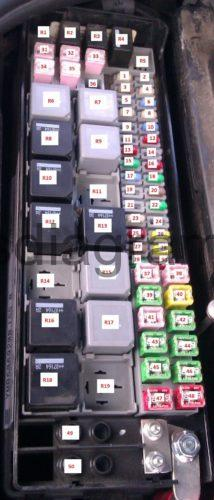 Fuse box Land Rover Discovery 3