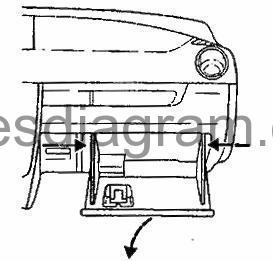 Fuse box Mazda 2 2001-2007