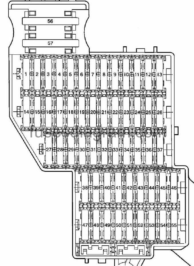 2005 Vw Touareg Fuse Box Diagram : 32 Wiring Diagram