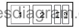 Fuse box Opel/Vauxhall Vectra B