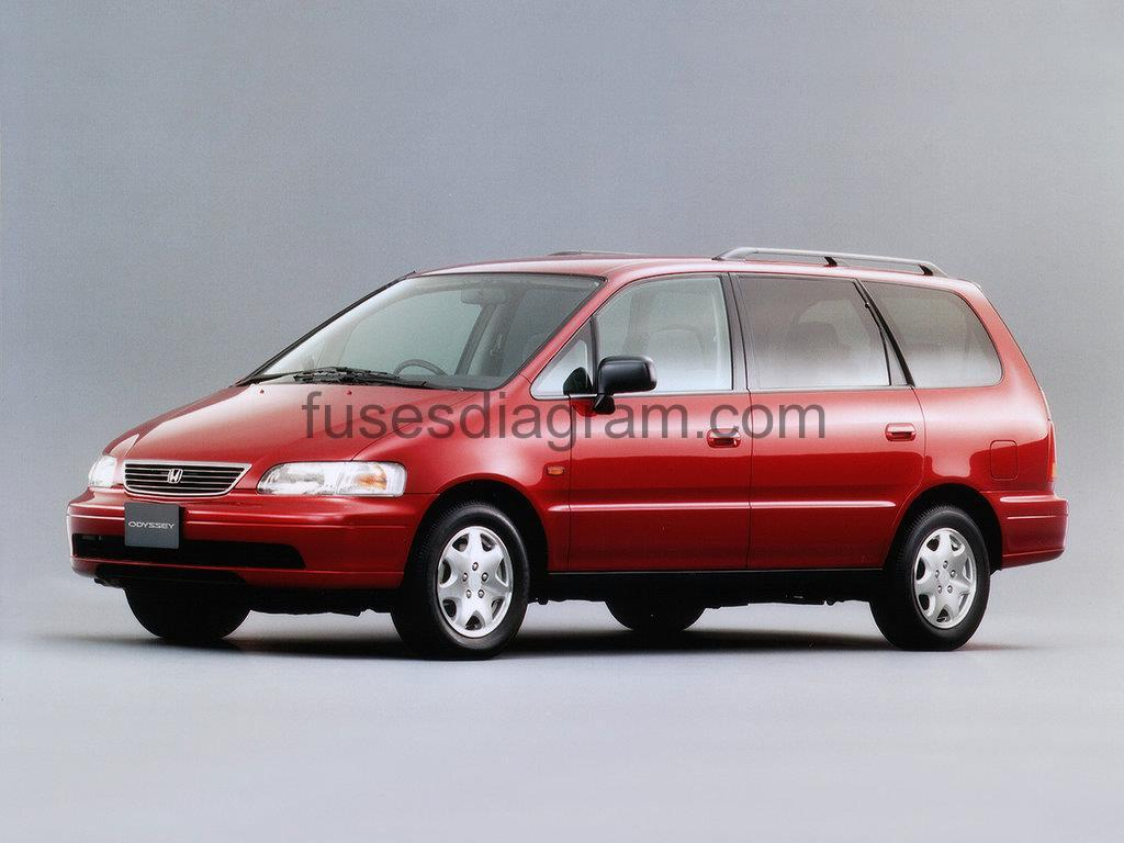 hight resolution of fuses and relay honda odyssey 1994 1998