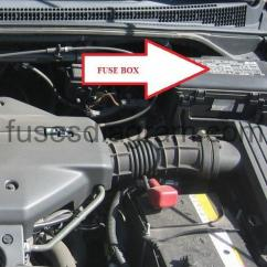 Running Lights Circuit Diagram 1967 Mustang Wiring Fuse Box Honda Odyssey 1999-2004