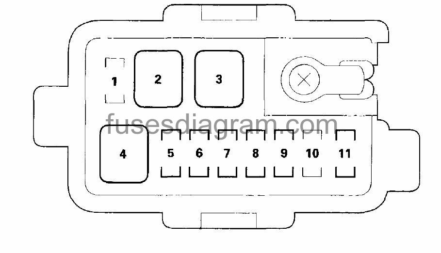 2003 Honda Odyssey Fuse Box : 27 Wiring Diagram Images
