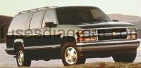 Fuse box Chevrolet Suburban 1992-1999