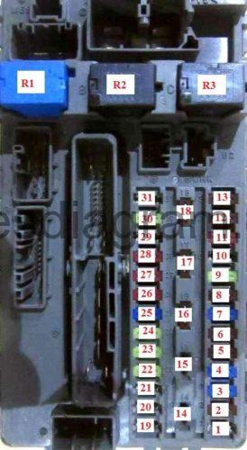 Honda Accord Under Dash Fuse Box Diagram
