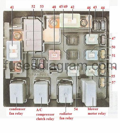mitsubishi stereo wiring diagram 12 volt dc relay fuse box honda cr-v 1997-2001