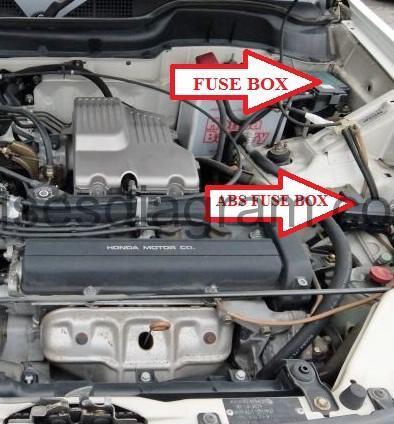 2003 Honda Accord Fuse Box Diagram Fuse Box Honda Cr V 1997 2001