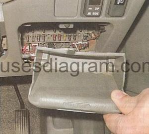 Fuse box Honda CRV 19972001