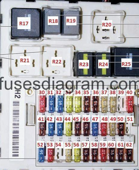 2006 Ford Escape Fuse Box Diagram On 2006 Ford Focus Panel Diagram