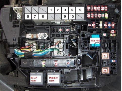 wiring diagram of electric fan 1995 club car golf cart fuse box toyota corolla 2007-2013