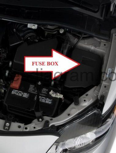 2007 Toyota Camry Engine Compartment Fuse Diagram Mustang Fuse