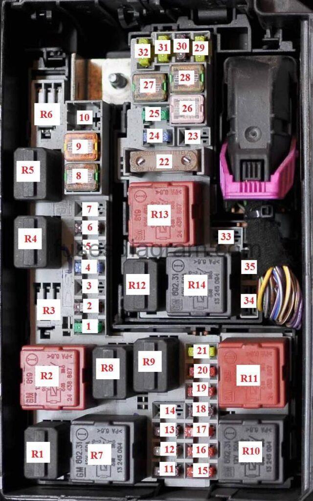 hight resolution of fuse box opel vauxhall meriva b fuse box on vauxhall meriva