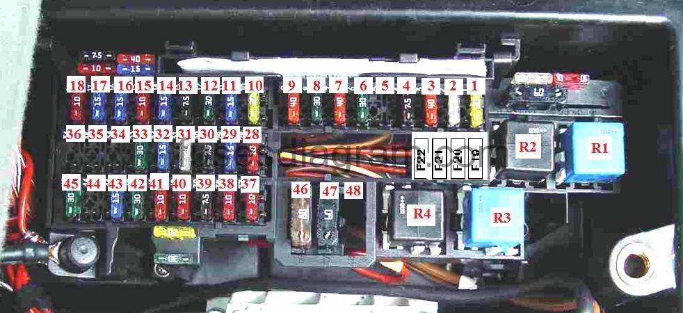 Cigarette Lighter Socket Wiring Diagram Fuse Box Mercedes W168