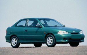 Fuse box Hyundai Accent 19941999