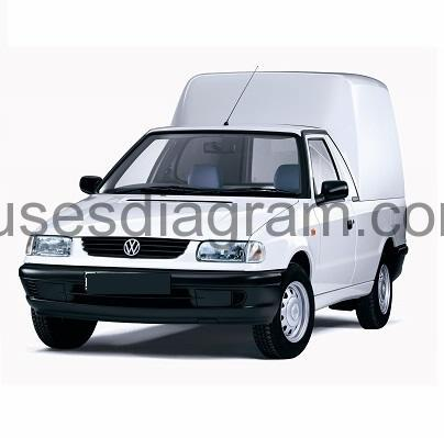 hight resolution of fuses and relay volkswagen caddy 1996 2003