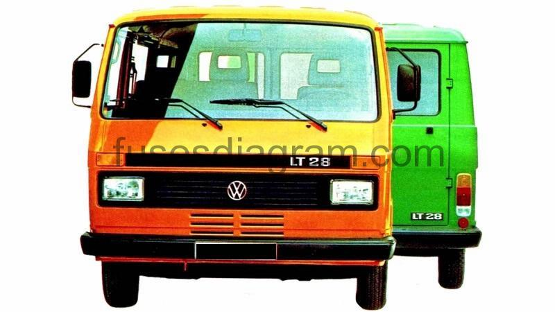 hight resolution of fuses and relay volkswagen lt 1983 1996