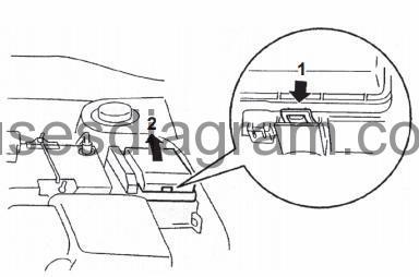 Fuse box diagram Mitsubishi Lancer Evolution