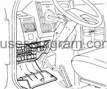 Fuse box diagram Iveco Daily