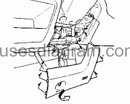 Fuse box diagram Honda Stream