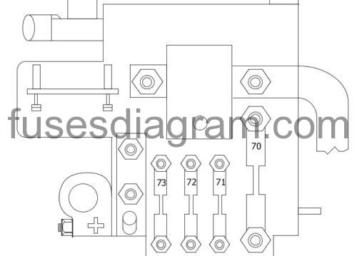 Fuse box diagram Alfa Romeo Brera