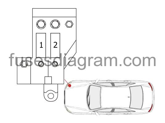 Fuse box diagram Audi A8 (D4)