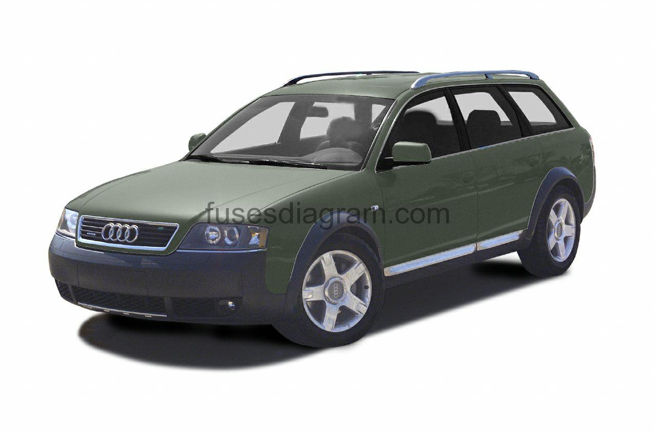 hight resolution of fuses and relay audi allroad