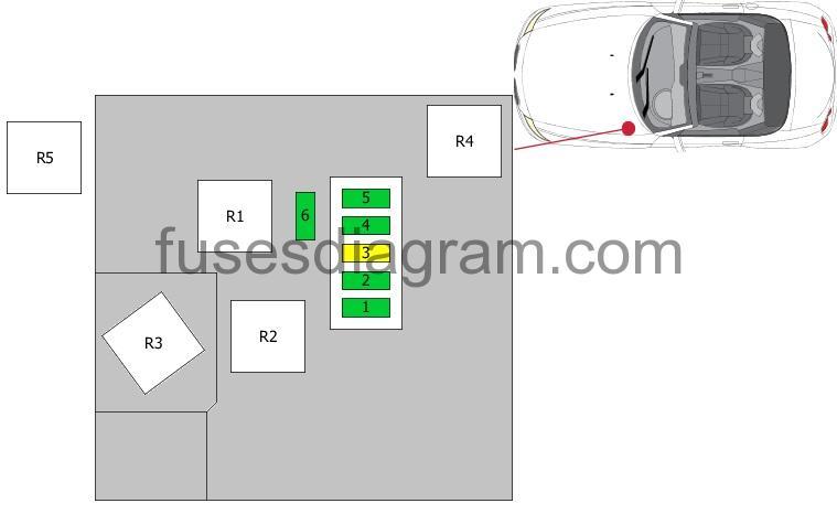 2005 Bmw Z4 Coupe Component Fuse Box Diagram