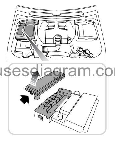 Fuse box diagram Land Rover Range Rover Sport