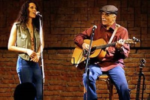Jim Kweskin and Samoa Wilson at Circle of Friends