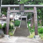 健速神社の鳥居