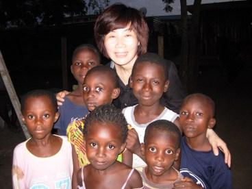 with African Children
