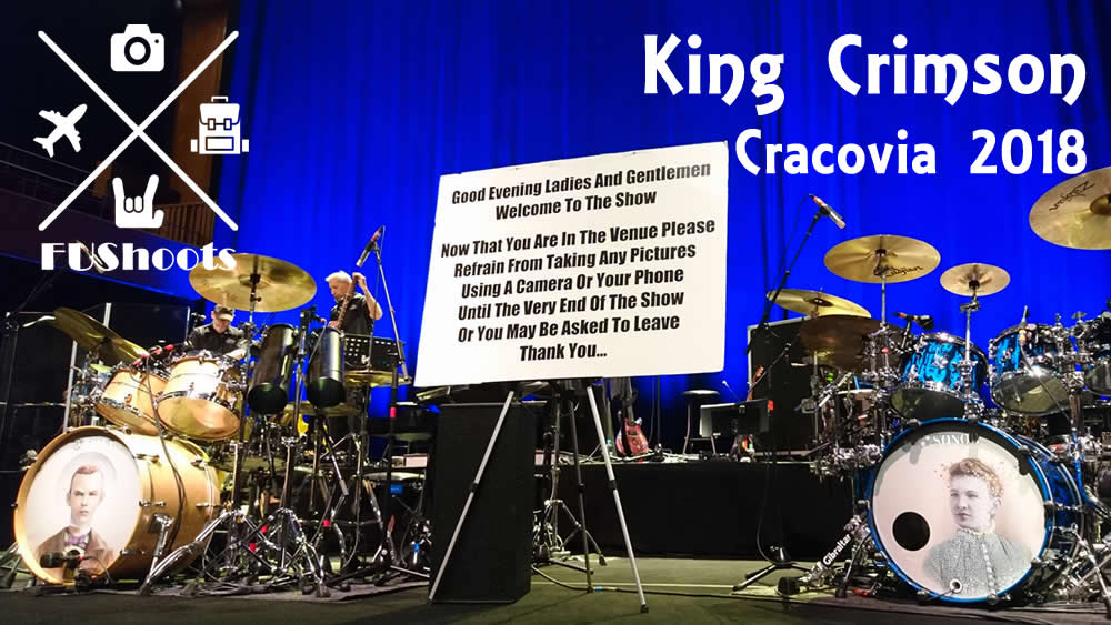 King Crimson Cracovia 2018
