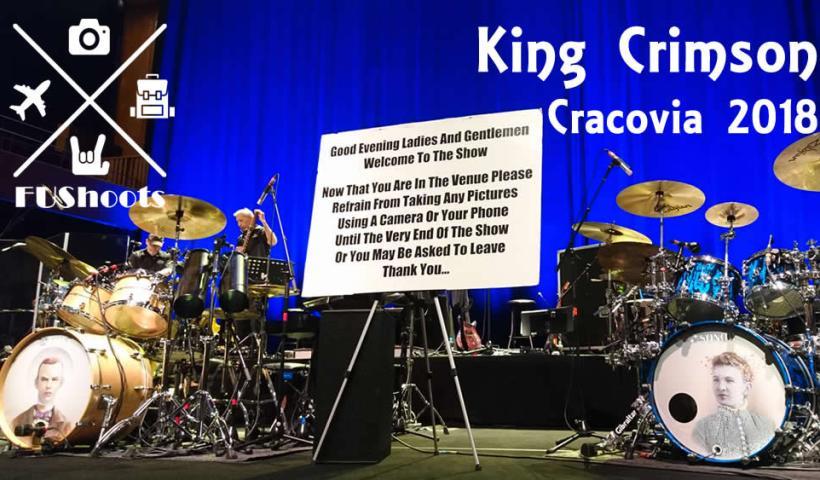 King Crimson Cracovia 2018