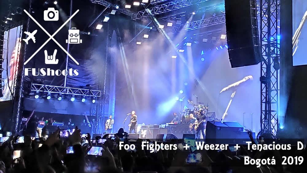 foo fighters weezer tenacious d bogota 2019