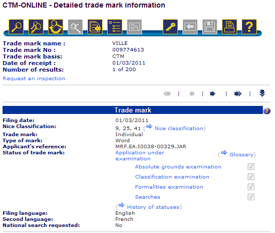 Ville trademark filed by Zynga