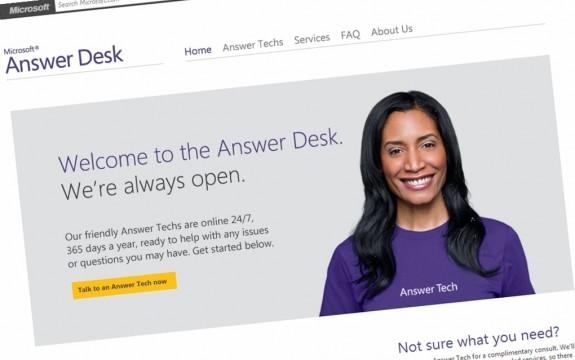 Microsoft Answer Desk