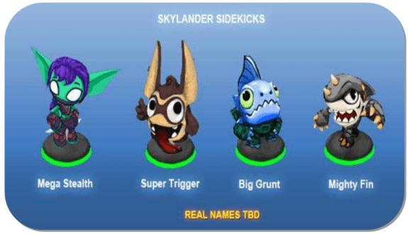 Skylanders sidekicks