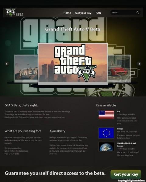 Grand Theft Auto V Beta