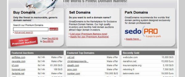 Great Domains