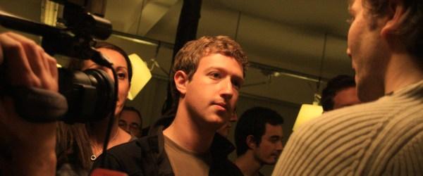 Mark Zuckerberg au Facebook Developer Garage Paris, 2008