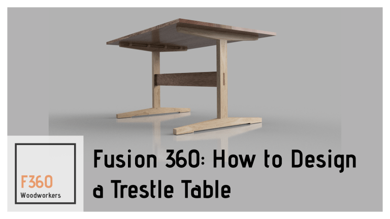 Fusion 360 for Woodworkers – Learn Fusion 360: CAD/Render