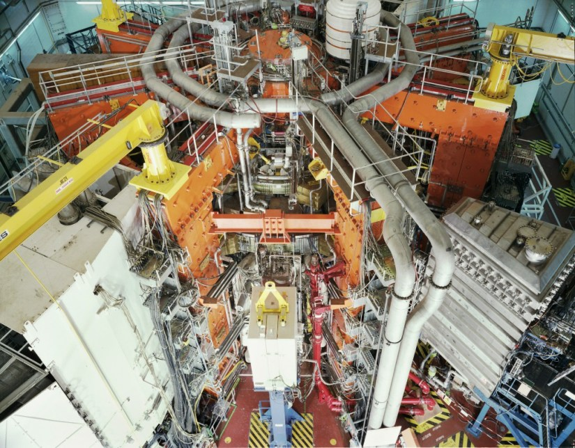 JET-reactor-fusion