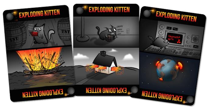 Avoid the exploding kittens
